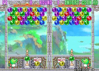 Puzzle Bobble 3 (ARC)  © Taito 1996   8/13