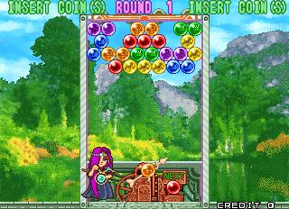 Puzzle Bobble 3 (ARC)  © Taito 1996   9/13