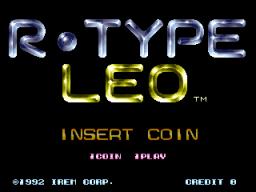 R-Type Leo (ARC)  © Irem 1992   1/4