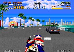 Racing Hero (ARC)  © Sega 1989   2/4