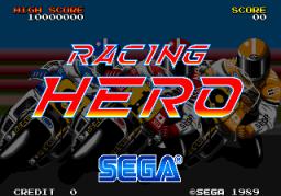 Racing Hero (ARC)  © Sega 1989   1/4