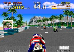 Racing Hero (ARC)  © Sega 1989   3/4