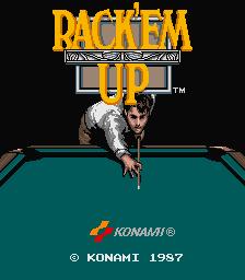 Rack 'Em Up (ARC)  © Konami 1987   1/3