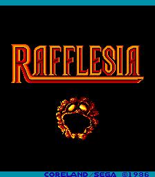 Rafflesia (ARC)  © Sega 1986   1/5