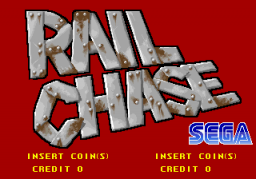 Rail Chase (ARC)  © Sega 1991   1/3