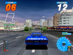 Rave Racer (ARC)  © Namco 1995   2/3