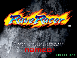 Rave Racer (ARC)  © Namco 1995   1/3