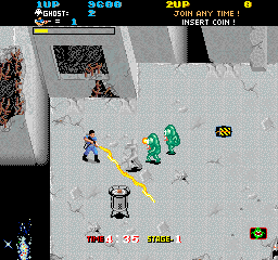 The Real Ghostbusters (ARC)  © Data East 1987   3/4