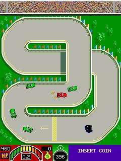 Redline Racer (1986) (ARC)  © Cinematronics 1986   3/3