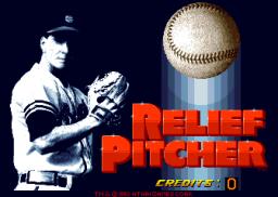 Relief Pitcher (ARC)  © Atari Games 1992   1/3