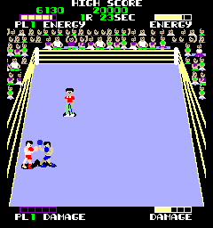 Ring Fighter (ARC)   © Taito 1984    2/3