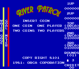 River Patrol (ARC)   © Orca 1981    1/3