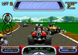 Road Riot 4WD (ARC)  © Atari Games 1991   3/4