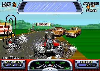 Road Riot 4WD (ARC)  © Atari Games 1991   4/4