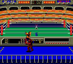 Robo Wres 2001 (ARC)  © Sega 1986   2/6