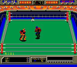 Robo Wres 2001 (ARC)  © Sega 1986   3/6
