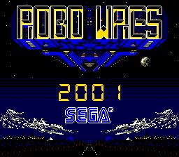 Robo Wres 2001 (ARC)  © Sega 1986   1/6