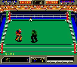 Robo Wres 2001 (ARC)  © Sega 1986   5/6