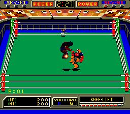 Robo Wres 2001 (ARC)  © Sega 1986   6/6