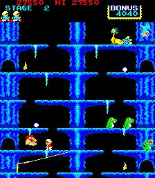 Roc 'N Rope (ARC)  © Konami 1983   2/3