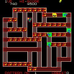 Rootin' Tootin' (ARC)  © Data East 1983   2/3