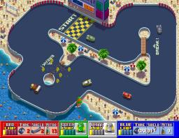 Rough Racer (ARC)  © Sega 1990   2/4