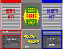 Rough Racer (ARC)  © Sega 1990   3/4