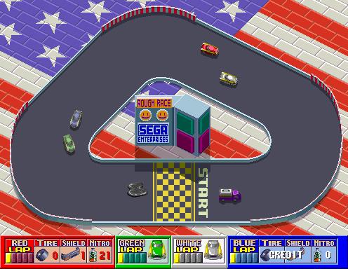 Rough Racer (ARC)  © Sega 1990   4/4
