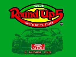 Round Up 5: Super Delta Force (ARC)  © Tatsumi 1989   1/3