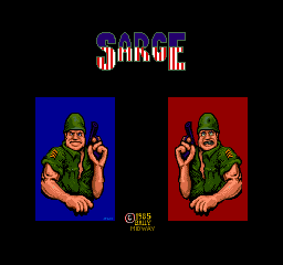 Sarge (ARC)  © Bally Midway 1985   1/4
