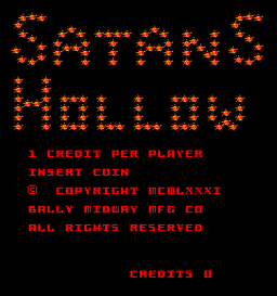 Satan's Hollow (ARC)  © Bally Midway 1982   1/5