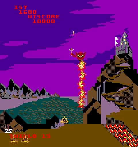 Satan's Hollow (ARC)  © Bally Midway 1982   4/5