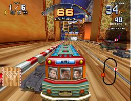 Scud Race Plus (ARC)  © Sega 1997   2/2