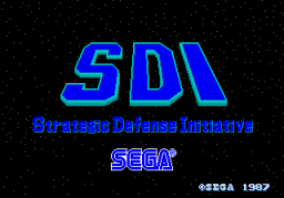 SDI: Strategic Defense Initiative (ARC)  © Sega 1987   1/3