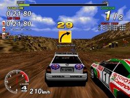 Sega Rally Championship (ARC)  © Sega 1995   3/5