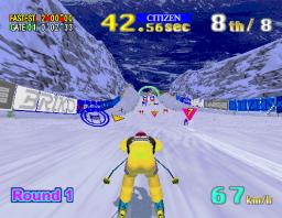 Sega Ski: Super G (ARC)  © Sega 1996   3/3