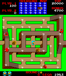 Sindbad Mystery (ARC)  © Sega 1983   2/3