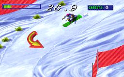 Snow Board Championship (ARC)  © Gaelco 1997   1/3