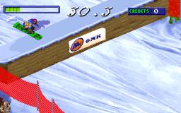 Snow Board Championship (ARC)  © Gaelco 1997   2/3