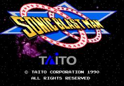 Sonic Blast Man (ARC)  © Taito 1990   1/5