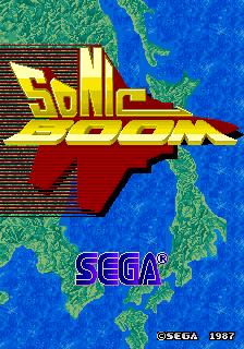 Sonic Boom (ARC)  © Sega 1987   1/5
