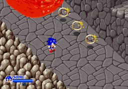SegaSonic The Hedgehog (ARC)   © Sega 1993    3/5