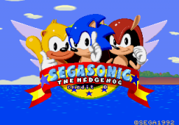 SegaSonic The Hedgehog (ARC)   © Sega 1993    1/5