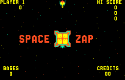 Space Zap (ARC)   © Midway 1980    1/3