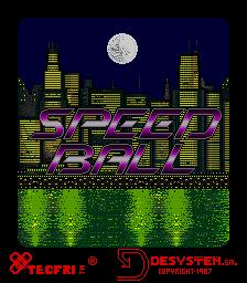 Speed Ball (ARC)  © Tecfri 1987   1/5