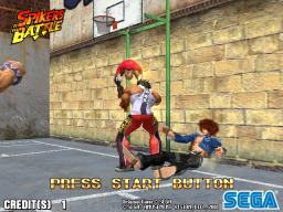 Spikers Battle (ARC)  © Sega 2001   1/3