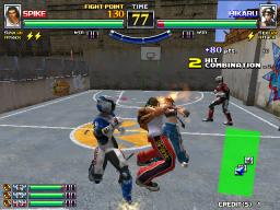 Spikers Battle (ARC)  © Sega 2001   3/3