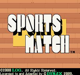 Sports Match (ARC)  © Dynax 1989   1/3
