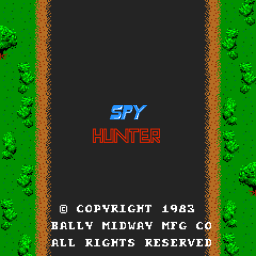 Spy Hunter (ARC)   © Bally Midway 1983    1/3