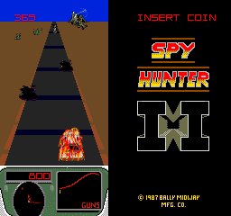 Spy Hunter II (ARC)  © Bally Midway 1987   3/3